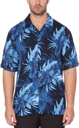 Cubavera Exploded Tropical Camp Collar Shirt