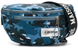 MAISON KITSUNÉ x Eastpak large printed belt bag