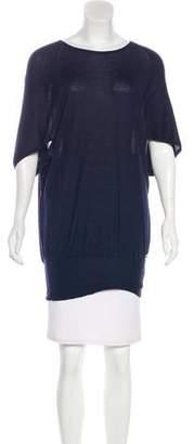 Gucci Cashmere & Silk Blend Knit Top