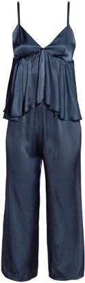 H&M Jumpsuit with Flounce - Blue