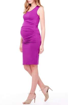 Ingrid & Isabel R) Ruched Maternity Tank Dress