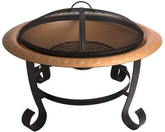 Pleasant Hearth Brentwood Steel Wood Fire Pit
