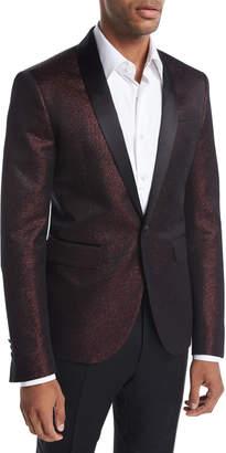 DSQUARED2 Tokyo Lurex Metallic Tuxedo Jacket