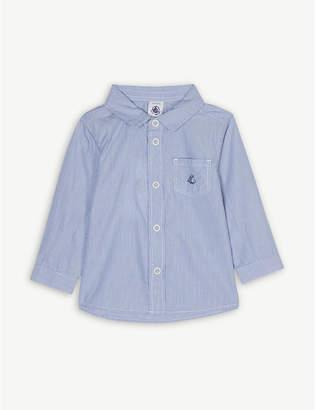 Petit Bateau Stripe cotton shirt 3-24 months