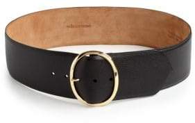 W.KLEINBERG W. Kleinberg Textured Leather Belt