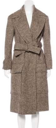 Celine Wool Mélange Coat w/ Tags