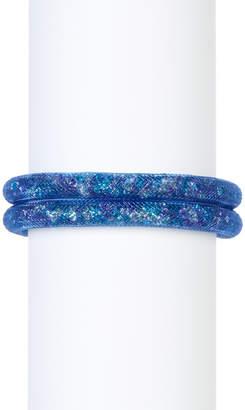 Swarovski Stardust Crystal Filled Mesh Wrap Bracelet $79 thestylecure.com