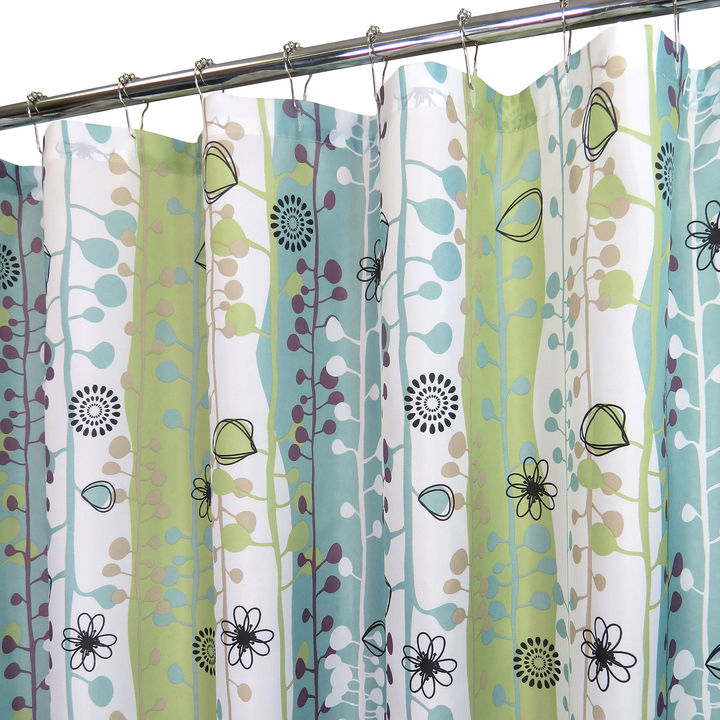 B. Smith Park Park Watershed Sproutin Shower Curtain