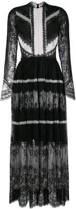 Ermanno Scervino lace pattern evening dress
