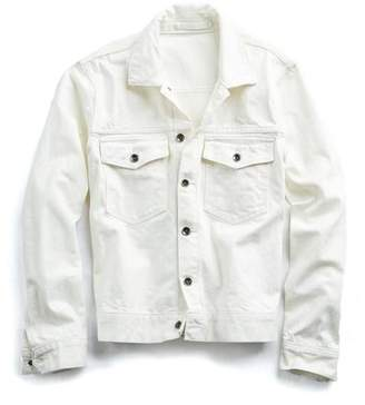 Todd Snyder Made in L.A. Denim Jacket in White