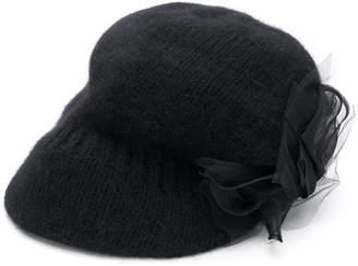 CA4LA knitted pattern cap