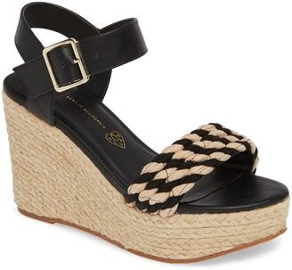 BC Footwear Dew Drops Vegan Espadrille Wedge Sandal