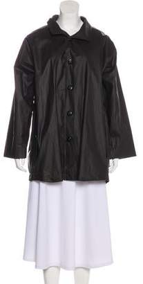 eskandar Oversize Button-Up Coat