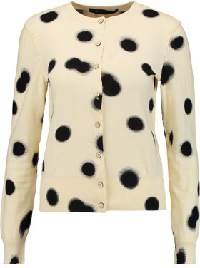 Marc by Marc Jacobs Polka-Dot Cotton Cardigan $258 thestylecure.com