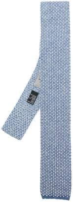 Canali thin knit tie