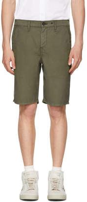 Rag & Bone Green Classic Chino Shorts