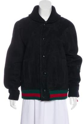 Gucci 2016 Shearling-Lined Jacket w/ Tags