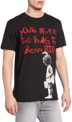 Eleven Paris Men's Dream Big Cotton T-Shirt