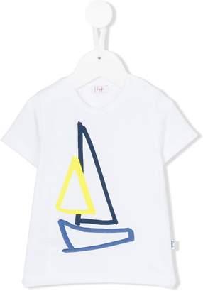 Il Gufo sail boat print t-shirt