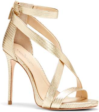 Vince Camuto Imagine Devin2 Metallic Crisscross-strap Sandal