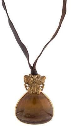 Stephen Dweck Agate Pendant Necklace