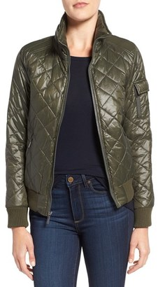 French Connection Quilted Bomber Jacket. $98 thestylecure.com