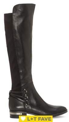 Vince Camuto Poshia Leather Riding Boots