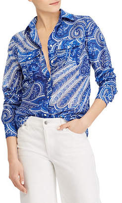 Lauren Ralph Lauren Paisley-Print Button-Down Shirt