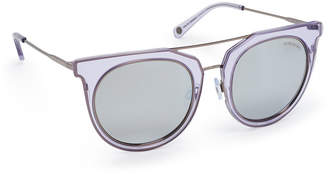 Henri Bendel Ellie Round Sunglasses