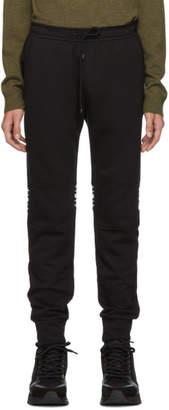 Fendi Black Stripe Lounge Pants