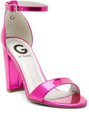 G by Guess Shantel Ankle Strap Heeled Sandal