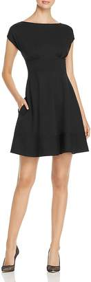 Kate Spade Fiorella Ponte Cap-Sleeve Dress