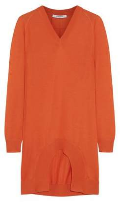 Givenchy Cutout Cashmere Wool And Silk-Blend Sweater