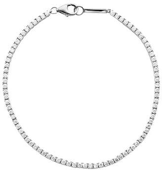 Lana 14k White Gold Diamond Tennis Bracelet