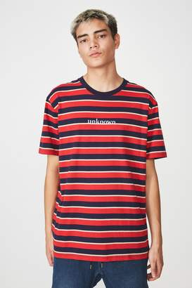Factorie Classic Embroided Stripe T Shirt