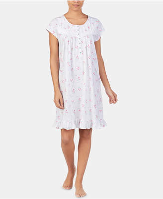 Long Sleeve Cotton Nightgown - ShopStyle Canada 2f8932ef8