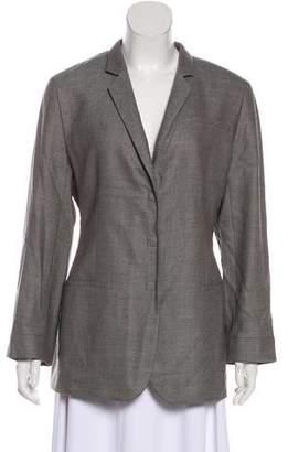 Giorgio Armani Virgin Wool Tweed Blazer