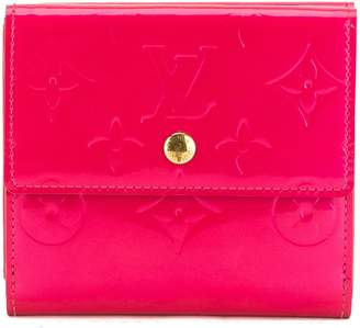 Louis Vuitton Fuchsia Monogram Vernis Leather Elise Wallet (Pre Owned)