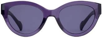 Cat Eye Acetate Cat-Eye Sunglasses
