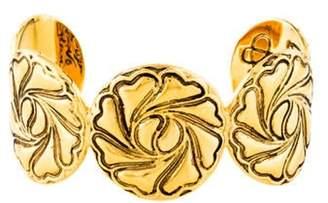 Diane von Furstenberg Compass Heart Cuff Gold Compass Heart Cuff