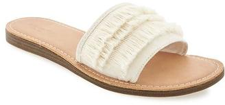 Sueded Fringe Sandals for Women $22.94 thestylecure.com