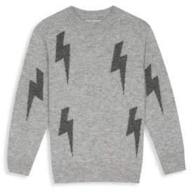 Rails Girl's Gemma Lightning Bolt Cashmere & Wool Sweater