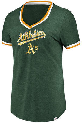 Majestic Women's Oakland Athletics Driven by Results T-Shirt