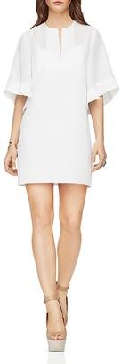 BCBGMAXAZRIA Tati Ruffle Sleeve Dress $248 thestylecure.com