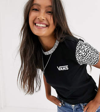 Vans Predator animal print t-shirt Exclusive at ASOS