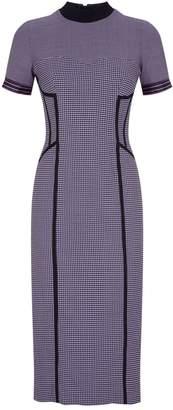 Amanda Wakeley Dogtooth Midi Dress