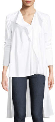 Palmer Harding palmer//harding Dusk High-Low Button-Front Top