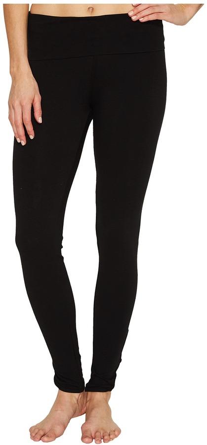 Hard Tail - Contour Rolldown Fleur-De-Lis Ankle Leggings Women's Workout