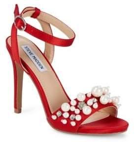 Steve Madden Dayanara Satin Stiletto Heels