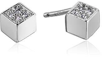 Tai Cube Post Stud Earrings